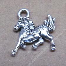 20pc Charms Money Horse Animal Accessories Bead Findings Tibetan Silver SAO186