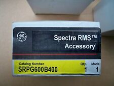 GE Spectra SRPG600B400 400amp circuit breaker rating plug new in box Warranty