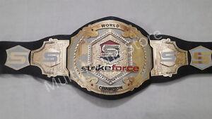 MMA Strikeforce World Championship Replica Belt 4mm amazing christmas gift