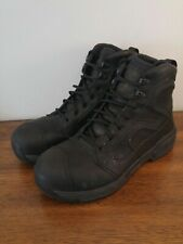 Red Wing Boots 2451 size 8 H  Black aluminium toe safety boot waterproof