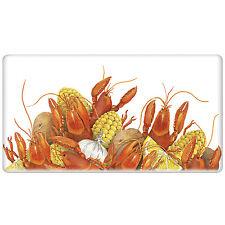 Crawfish Boil Decorative Kitchen FlourSack Towel-By Mary Lake Thompson