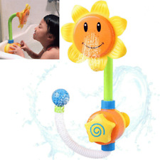 Water Bath Baby Toys Whale Press Spray Water Kids Play Tub Floating Toy LH