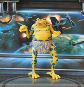 STAR WARS FIGURE 1995 POTF COLLECTION SY SNOOTLES (MAX REBO BAND)