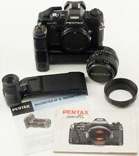 PENTAX SUPER-A 35mm FILM CAMERA SPLENDID KIT WITH PENTAX-A 50mm F1.4