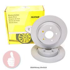 TEXTAR Bremsscheiben 230mm voll Hinterachse 92082503 für Audi