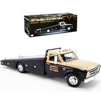 ACME 1:18 SMOKEY YUNICK RACING 1967 Chevrolet C-30 Ramp Truck Black A1801703