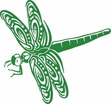 Dragonfly Dragon Fly Insect Wings Car Truck Window Laptop Vinyl Decal Sticker