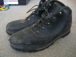 MENS TIMBERLAND SPLIT ROCK PRO STEEL TOE CAPPED BOOTS SIZE UK 12
