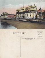 1920's GREENWICH HOSPITAL LONDON UNUSED COLOUR POSTCARD
