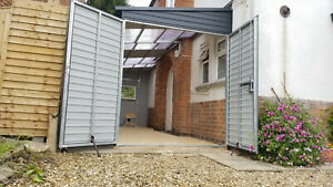 Lean To Extension 7x23ft - Any Size House or Business Storage Made to Measure