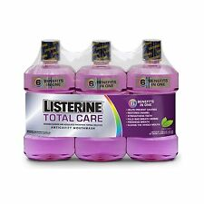 Listerine Total Care Mouthwash Fresh Mint - 3 Pack NEW NEW NEW NEW
