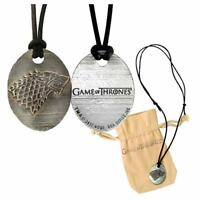 Game of Thrones Stark Pendant Necklace-One of a Kind-Rare