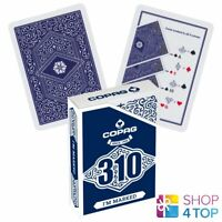 COPAG 310 I'M MARKED POKER PLAYING KARTEN DECK PAPER STANDARD INDEX BLAU NEU
