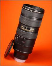 Nikon 70-200mm AF-S F2.8G MK II VR N obiettivo zoom con tappo anteriore e posteriore
