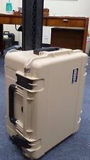 Desert Tan SKB Case 3i-2217-10T-E  No foam. Comes with Pelican TSA- 1610 Lock