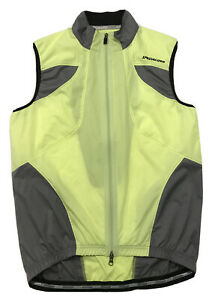 Bike Cycling Jacket Vest Sport Specialized Neon Yellow Size Medium Men's High Vi