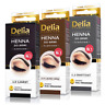 Delia - Professional Quality - 1 HENNA COLOR TINTING CREAM KIT FOR EYEBROWS