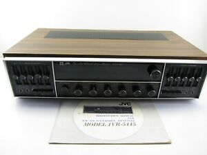 Vintage JVC 4VR-5445 AM / FM 4 Channel Stereo Receiver Phono Amp W/ Manual S.E.A