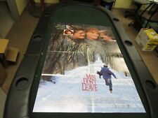 One Sheet Movie Poster Men Don't Leave 1989 Jessica Lange Joan Cusack