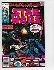 STAR WARS 6 - VF+ 8.5 - LUKE SKYWALKER VERSUS DARTH VADER (1977)