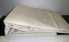 New Open Package Flat Sheet Percale Zero Chemicals King Pure Naturals Cotton