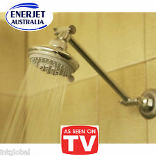 Fixed Shower Head - 6 Litres per Minute !! 5 Function - CSIRO Tested & Approved