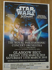 Star Wars In Concert With The Royal Philharmonic Orchestra Glasgow 2010 poster