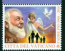 2018 Vatican City: 50th Anniversary of the Death of Padre Pio MNH