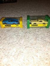 New ListingVintage Aurora Model Motoring T-Jet slot cars Lot Cougar and Ford Gt