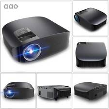 AAOYG600 2000 Lumens 1080P LCD Mini Portable Projector Multimedia Theater Cinema