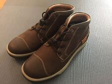 New Keen Mens Cascade Glenhaven Mid Brown Leather Shoes Sz 8 26CM Sneakers