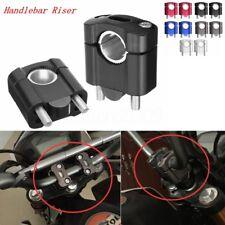 """1 1/8 """"7/8"""" Universal CNC Pontet de Guidon Pour Moto Dirt ATV Guidon Réhausse"""