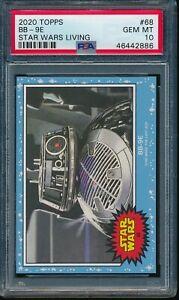 2020 Topps Star Wars Living Set #68 BB-9E PSA 10 Gem Mint SP Card The Last Jedi