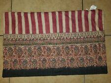 """Pottery Barn """"Linen/Cotton Arabesque"""" 16"""" X 26"""" Pillow Cover"""