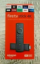 Amazon Fire TV Stick 4K with New Alexa Voice Remote - Brand New - Free Shipping