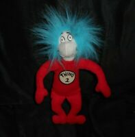 """9"""" THE CAT IN THE HAT 2003 UNIVERSAL STUDIOS THING 2 STUFFED ANIMAL PLUSH TOY"""