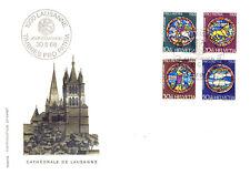 Ersttagsbrief Schweiz MiNr. 874-877 - »Pro Patria«: Kunst und Kunsthandwerk (I)
