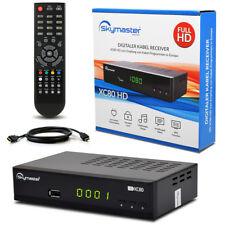 HDTV FULL HD HDMI Digital KABEL Receiver Skymaster XC80 DVB-C USB Kabelreceiver