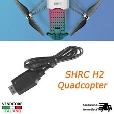 CAVO USB cable charger ricarica drone SHRC H2 Quadcopter RC caricabatteria wire