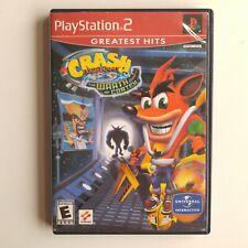Crash Bandicoot: The Wrath of Cortex Greatest Hits (Sony PlayStation(W/ Case) Gw