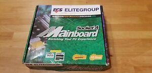 ECS Elitegroup Mainboard / Motherboard for AMD CPU Socket A 462 VGA/SOUND Boxed