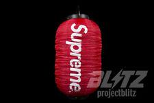 SUPREME HANGING LANTERN RED FW19 2019 BOX LOGO WHITE CDG LAMP LIGHT