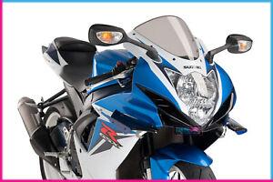 PUIG SIDE SPOILER DOWNFORCE FOR SUZUKI GSX-R600 11-16 BLUE