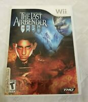 Nintendo Wii The Last Airbender M Night Shyamalan with Manual Tested and Works