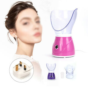 Purple Face Spa Facial Steamer Digital Pores Sprayer Skin Beauty Clean Sauna