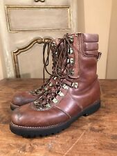 Vintage Montblanc Mens Mountaineering Hiking Climbing Boots Size 8 D