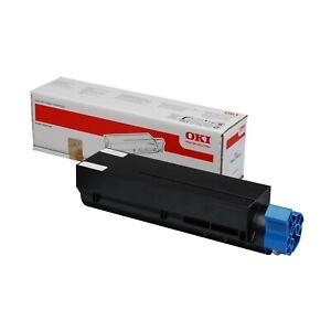 1 x Oki Black Original OEM Toner Cartridge B412, B432, B512, MB472, MB492, MB562