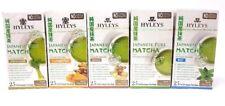 Hyleys Japanese Pure Matcha Tea Five Flavors Set, 25 Teabags each