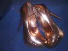 Rouge helium shoes rose,gold,metallic size 8 1/2