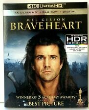 Braveheart - 4K Uhd Hdr Ultra Hd Blu-ray / Bluray [with Slipcase] Brave Heart